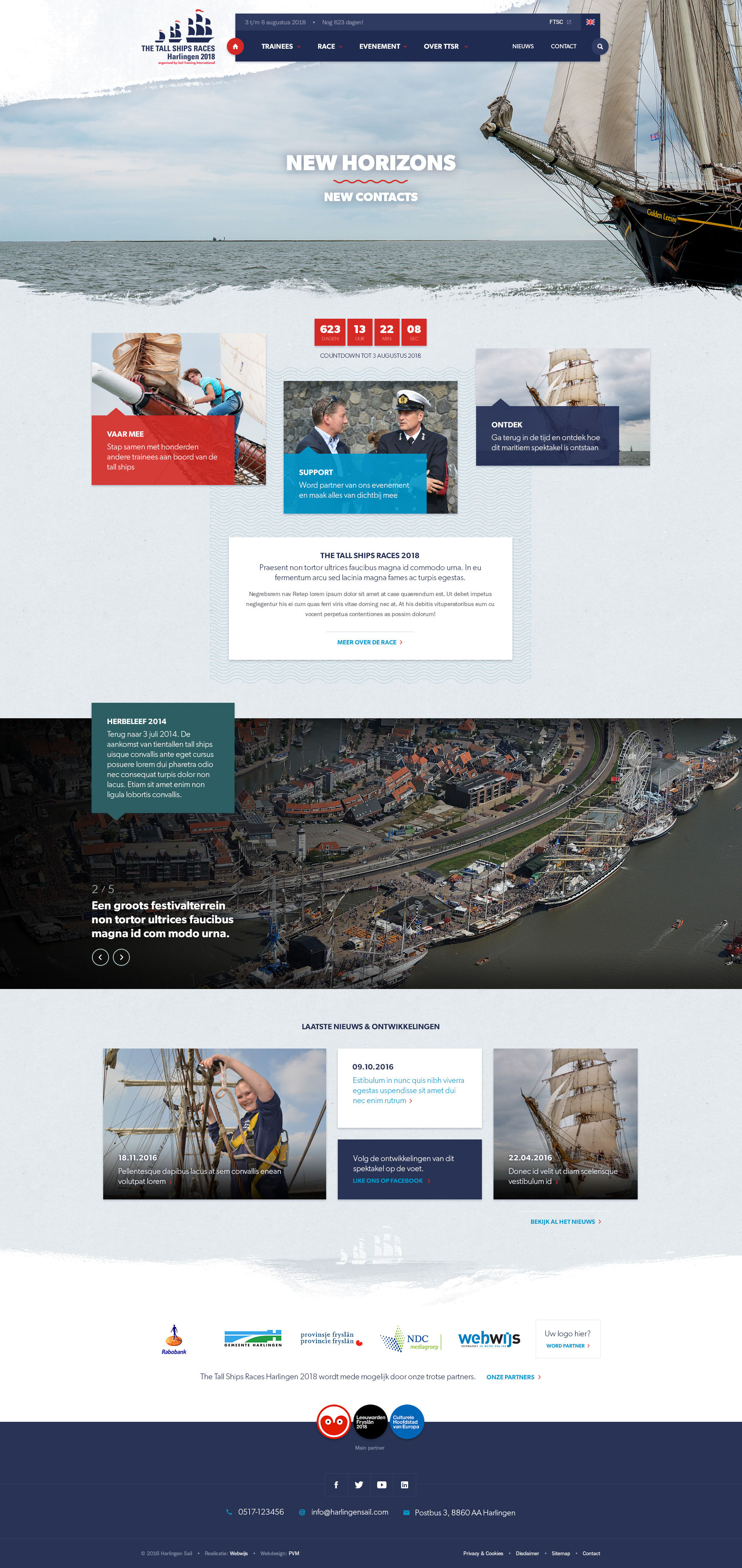 The Tall Ships Races 2018 Harlingen